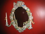 $29,000 Dresden Porcelain Mirror