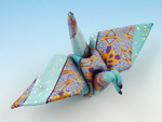 Jacquard Patterned Polymer Crane