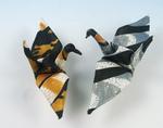 """Pair of """"fidelity cranes"""""""