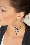 Earrings from the Lavish Design line