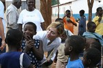 Madonna in Malawi with the Kabbalah Centre