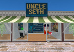 Uncle Seth storefront in Second Life
