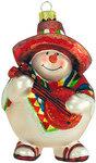 Serenading Snowman