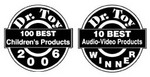 """""""100 Best Children's Products 2006"""" & """"10 Best Audio/Video Products 2006"""" Awards"""