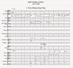 The opening bars of the full score of The Faerie Queen