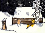 Snowy Cabin, Jake, Age 11