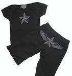 """""""Winged Star"""" knitwear set"""