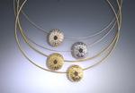Suz Andreasen's Urchin Slide Pendants