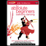 DanceScape For Absolute Beginners Only Ballroom Dancing Instructional DVD