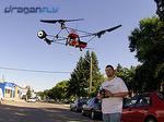 Draganflyer SAVS - in flight