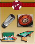 Whale level roulette kit from Executive Gaming Monthly