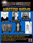 Late Show Auditions Poster