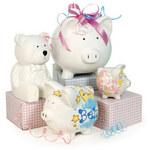 GiftBasketsPlus.com offers this pig themed selection.