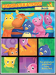 Backyardigans Card from Cards4Kids