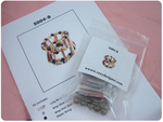 Shell Bracelet and Earrings Kit