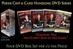 "The Official Poker Chip and Card Handling DVDs - ""Teaching You the Flashy Side of the Game!"""