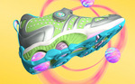 Girls' stride rite SuperBall shoes.