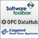 Software Toolbox, OPC DataHub, and Cogent Real-Time Systems