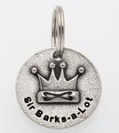 Sir Barks Collar Charm