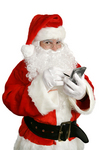 """Interview Santa and Receive MP3 """"Clausecasts"""""""