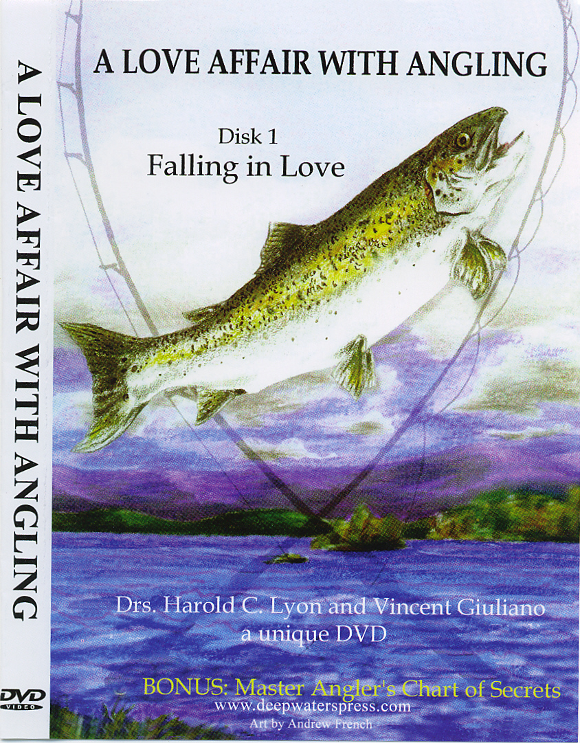 Love Affair Book Cover : A love affair with angling dvd by dr harold lyon author