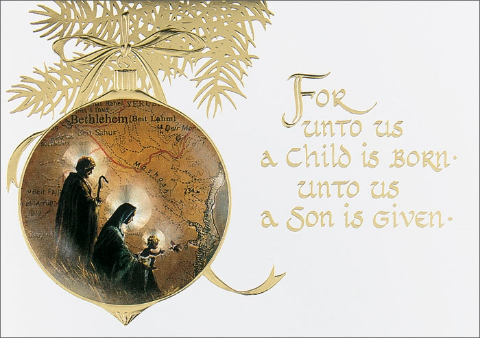 "... Religious Greeting Card"" CardsDirect Religious Christmas Card"