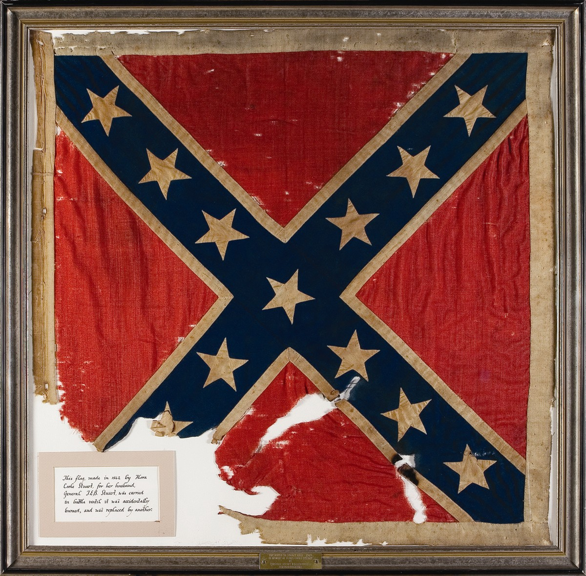Historic Valuable Civil War Flags Artifacts In Auction