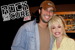 Recording artists Eric Lee Beddingfield and Dolly Parton