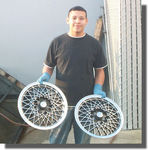 Randy Plata and Hubcaps
