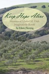 """Book royalties from the sale of """"Keep Hope Alive"""" will be donated by the author, Eileen Fleming, to the Olive Trees Foundation for Peace"""