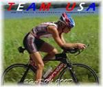 Sharon Good, Team USA triathlete, sponsored by AquaJogger