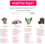 Mad For Toys - the toy search engine