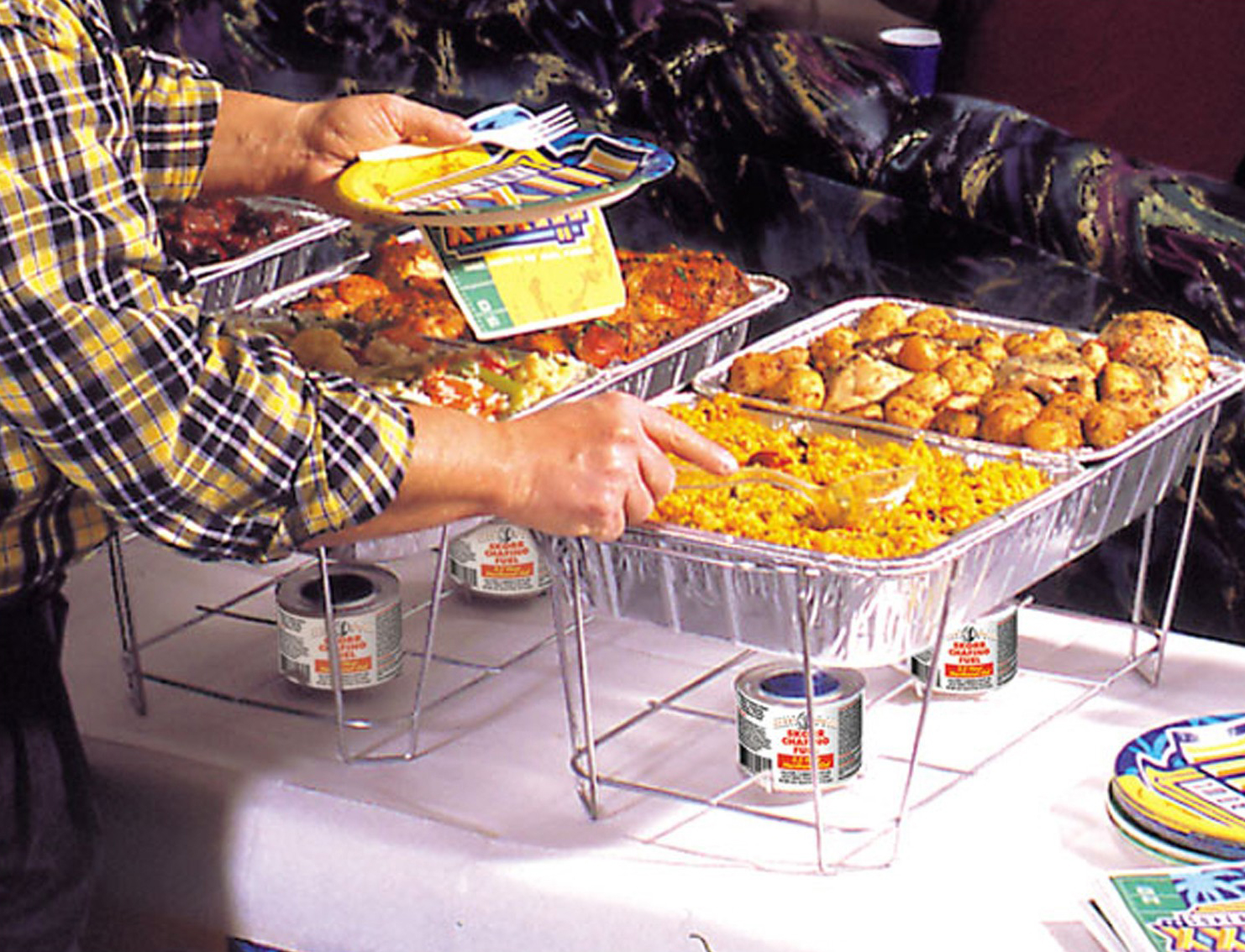Keep Food Warmer ~ Potentially dangerous imported food warming chafer stands