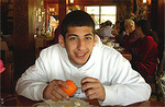 Daniel Cantor Wultz in Israel shortly before terrorist attack that took his life.