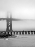 The Golden Gate Goes Black and White