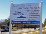Kings Lake Town Homes Sign