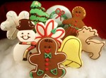 Iced Christmas Cookies