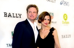Colin Firth with wife Livia