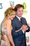 Felicity Huffman with husband William H. Macy