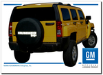 Hummer H3 Reflective Tire Cover
