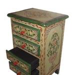 Traditional Zouaga Furniture: Nightstand