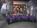 Begoths Collectible Dolls on Movie Set