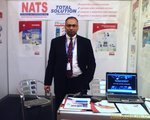 NATS booth at the ASIS Middle East Security Conferance in Manama, Bahrain
