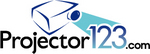 Logo for www.Projector123.com