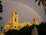 Rainbow over Colonial Granada