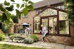 PVCU Woodgrain Style Conservatory