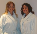 Blue Water Spa robes