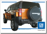 Unpainted Hummer H3 Rigid Tire Cover
