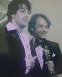 """Stallone and """"Rocky"""" Best Director winner John Avildsen"""