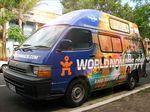 The World Nomads Ambassador Van